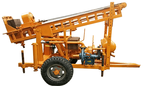 Drilling Rig Manufacturers RDS-110 Mini Rotary cum DTH Trolley Mounted