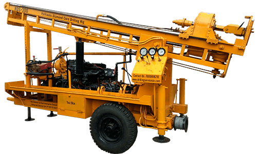 Drilling Rig Manufacturers RDS-300 Rotary cum DTH Trolley Mounted