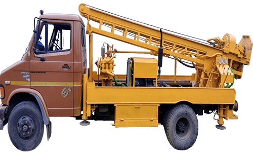 RDS-300 Rotary cum DTH Truck Mounted Drilling Rig Best Manufacturers in india